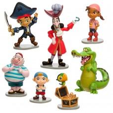 Jake si Piratii din Tara de Nicaieri - Set Figurine