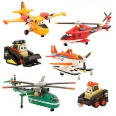 Set figurine Disney Avioane Echipa de Interventii