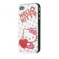 Carcasa iPhone 4/4s - Heartfull by Hello Kitty