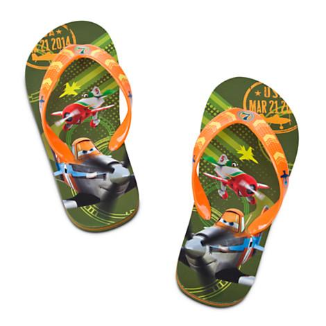 Papuci plaja Disney Avioane