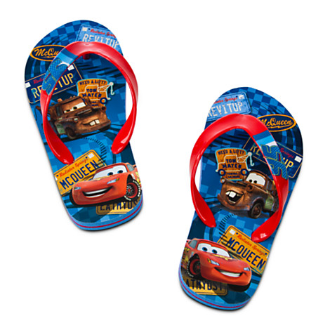 Papuci plaja Cars